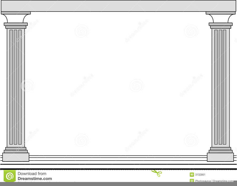 Download Columns Frame Clipart Column Picture Frames Borders And