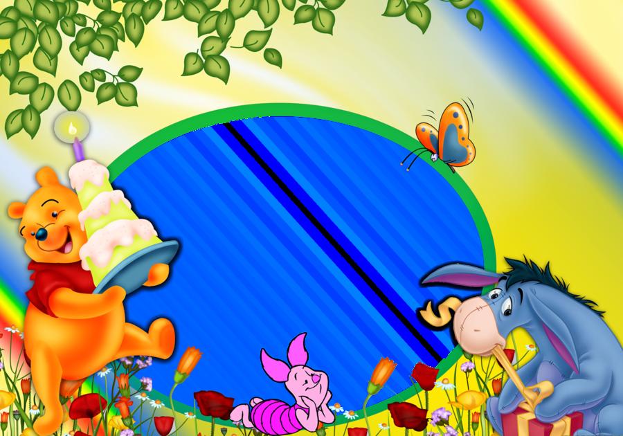 Winnie The Pooh Birthday Background Clipart Desktop Wallpaper