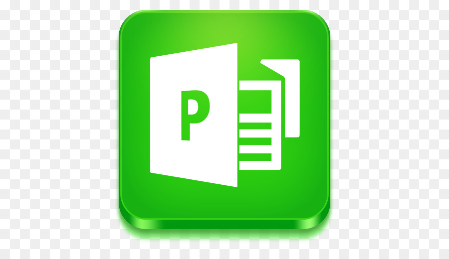 Microsoft Office Icon clipart - Green, Yellow, Text