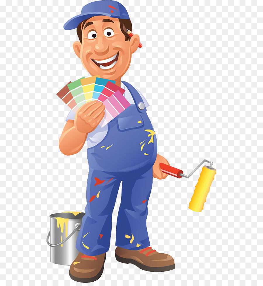 Download Painter Transparent Clipart House Painter And Decorator Painting Painting Paint Wallpaper