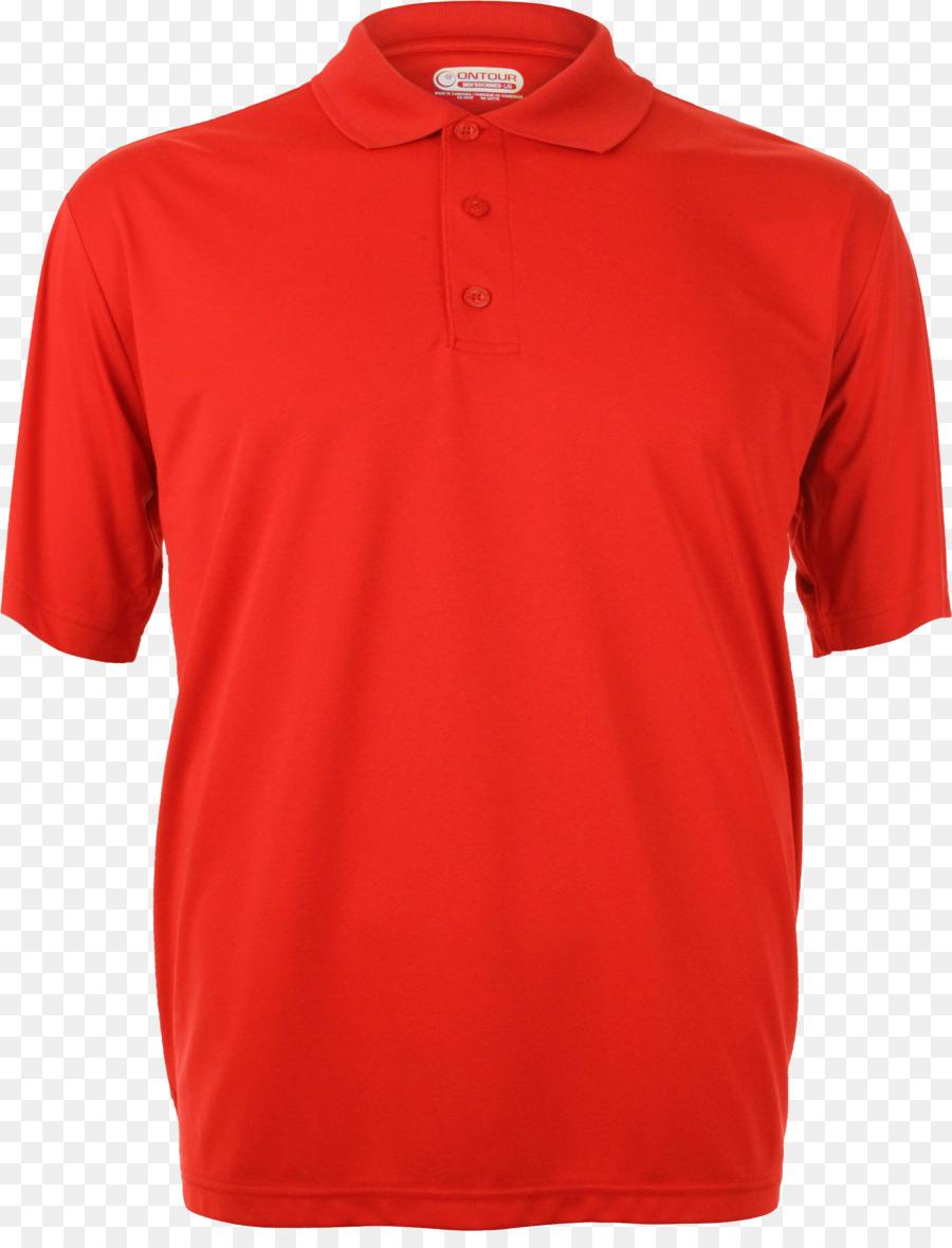 red polo shirt png clipart T-shirt Polo shirt