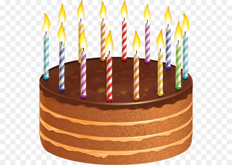 Birthday Cake Without Candles Clipart
