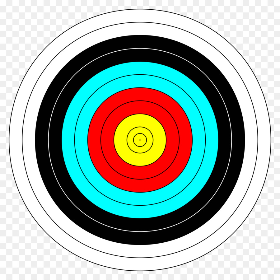 archery target face clipart Target archery Shooting Targets