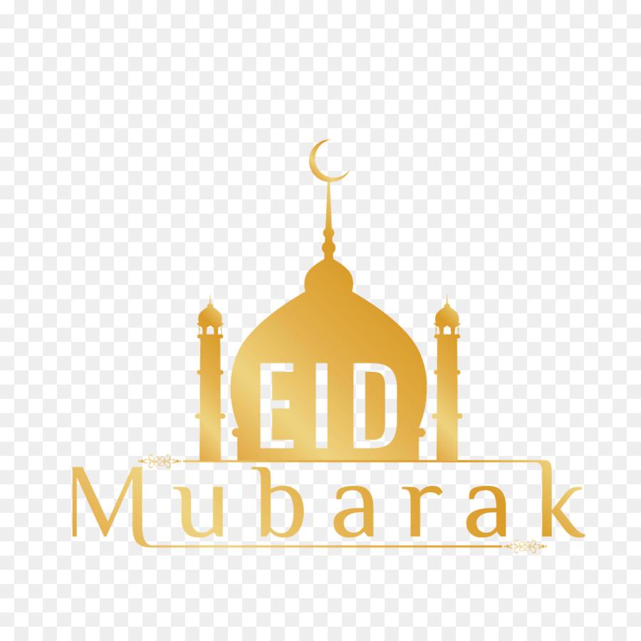 Eid Mubarak Yellow