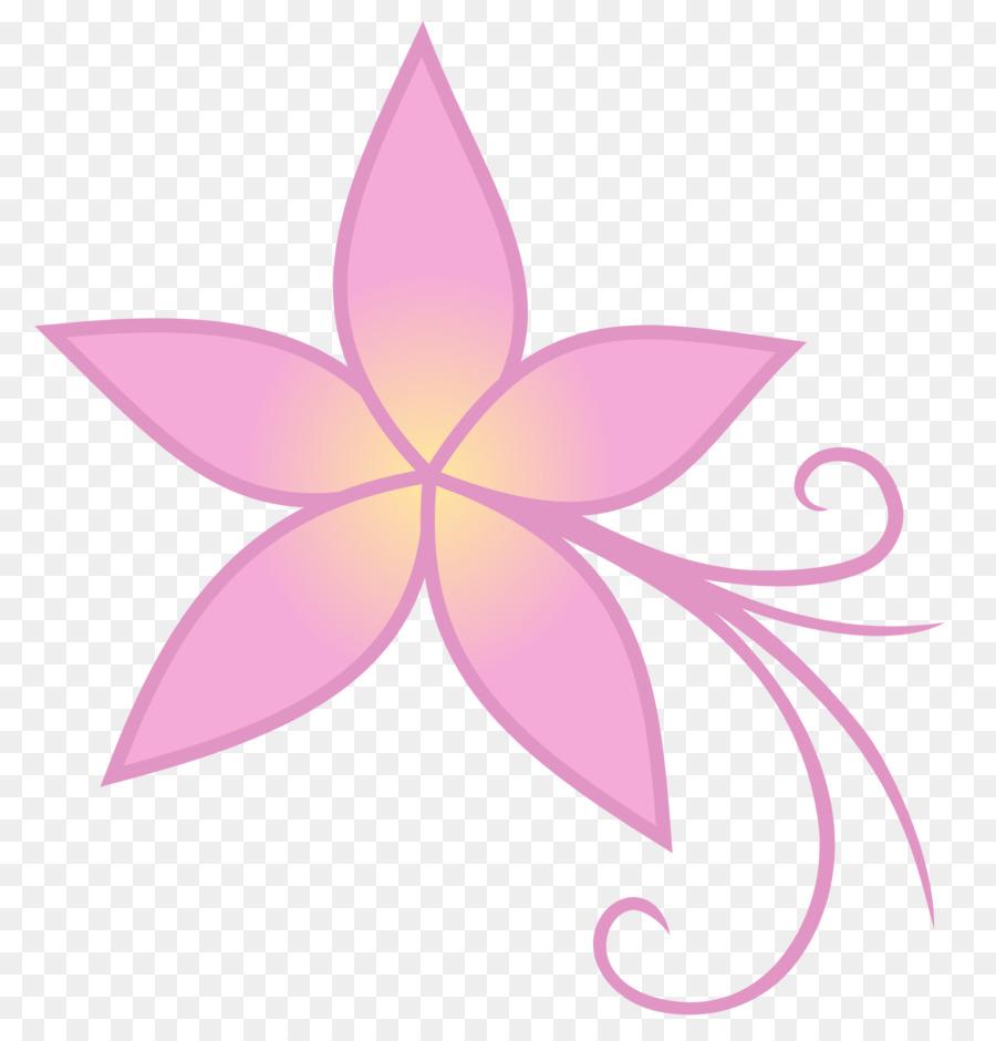 Pink Flower Cartoon