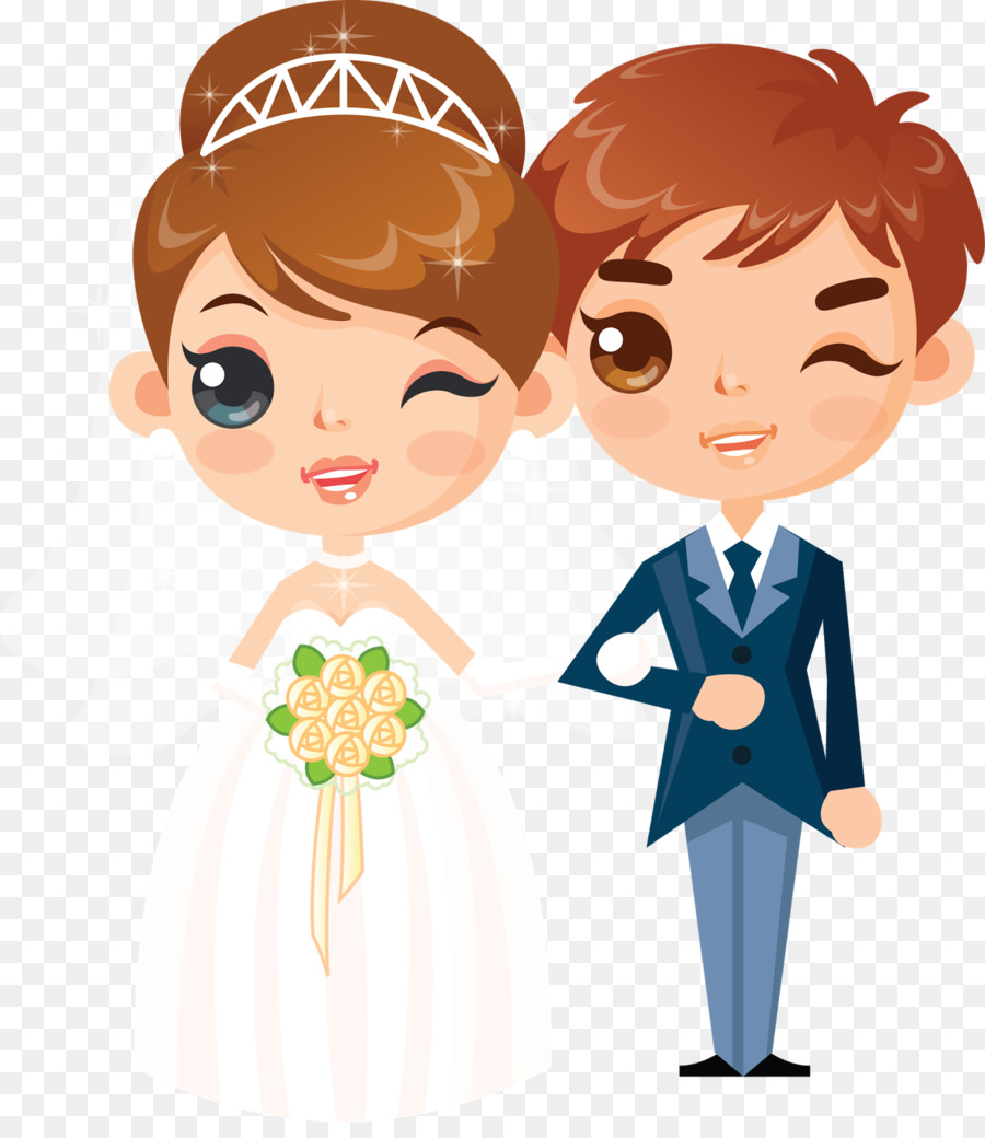 wedding couple png clipart Wedding invitation Clip art