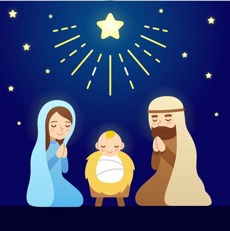 Download cartoon nativity scene clipart Nativity scene Nativity of ...