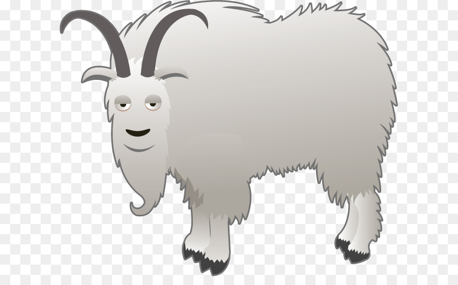 Sheep Cartoon clipart - Goat, Drawing, Sheep, transparent