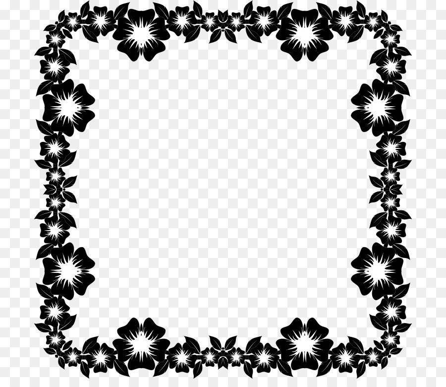 Download flower frame black and white transparent clipart picture download flower frame black and white transparent clipart picture frames flower clip art mightylinksfo