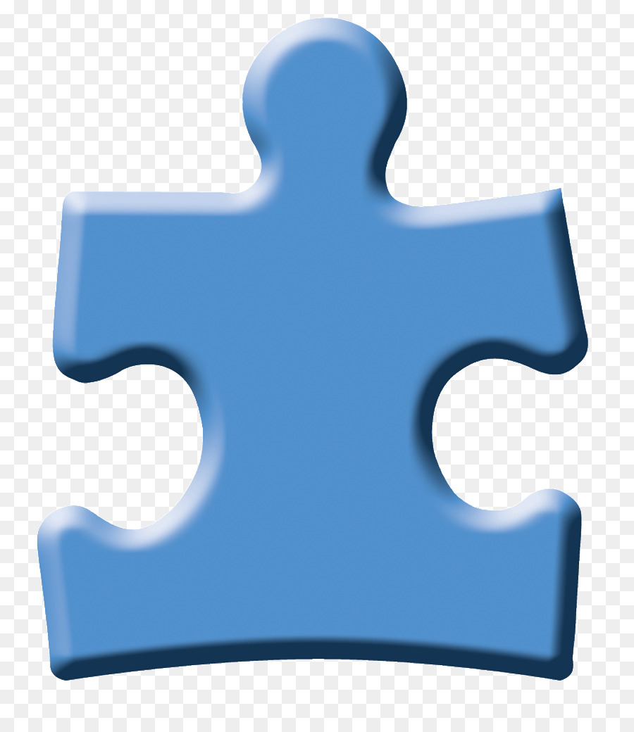Puzzle piece autism awareness. Day clipart blue product