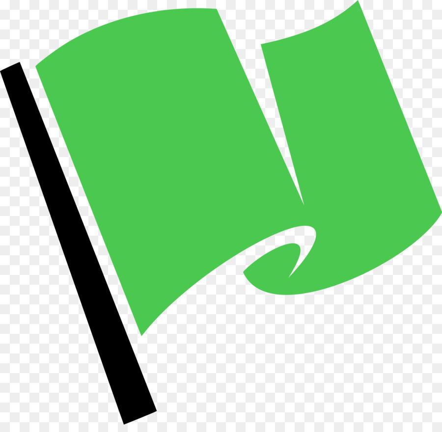 Flag green. Leaf logo clipart text