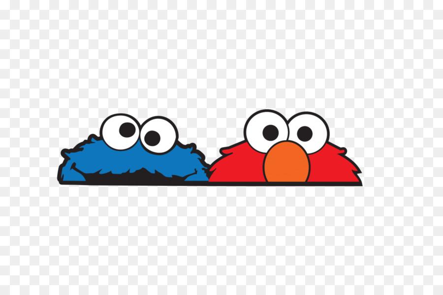 Sesame Street Clipart Elmo Sticker Monster Transparent