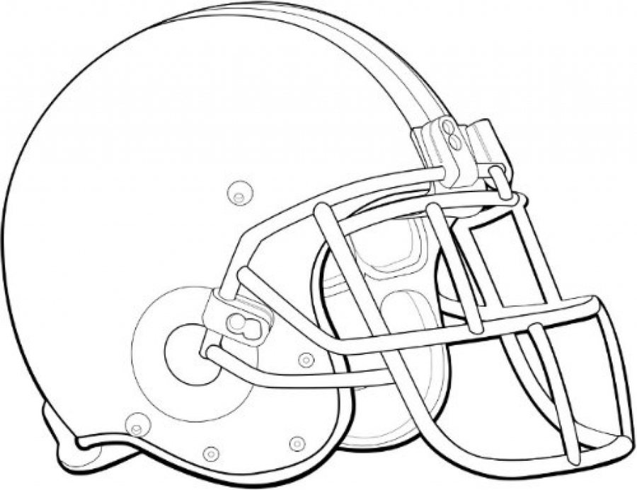 Football Helmet Coloring Pages Clipart Green Bay Packers NFL Oakland Raiders
