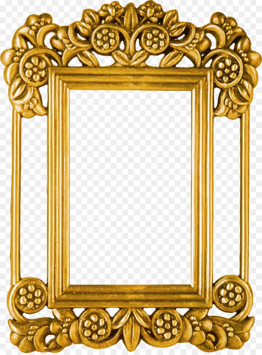 Picture Frame Frame Clipart Ornament Mirror Transparent Clip Art