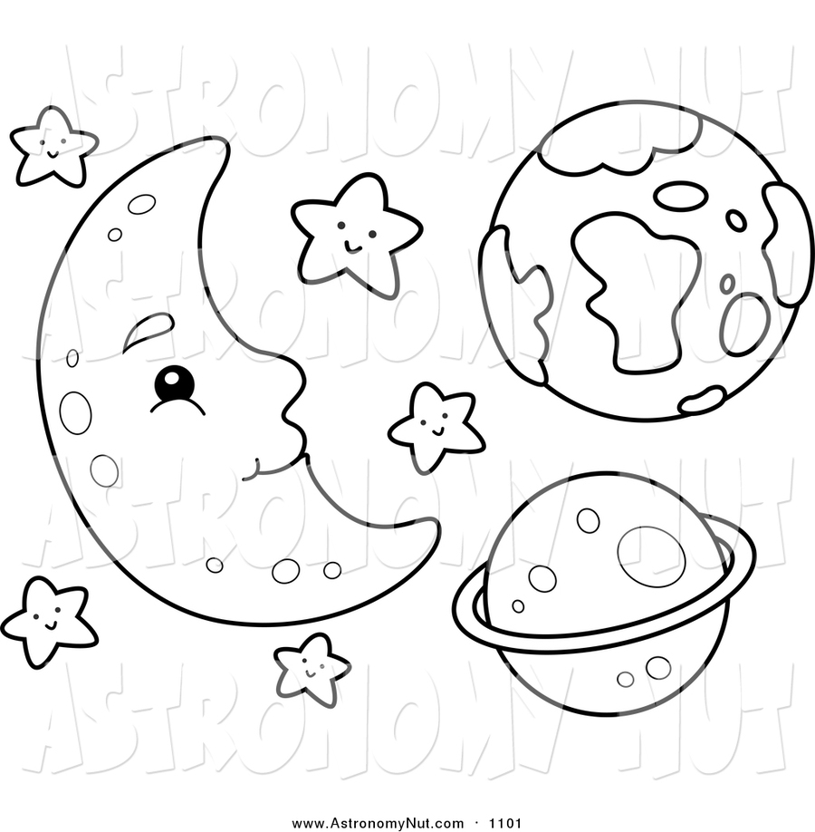 Space Coloring Pages Clipart Angry Birds Book Star Wars II
