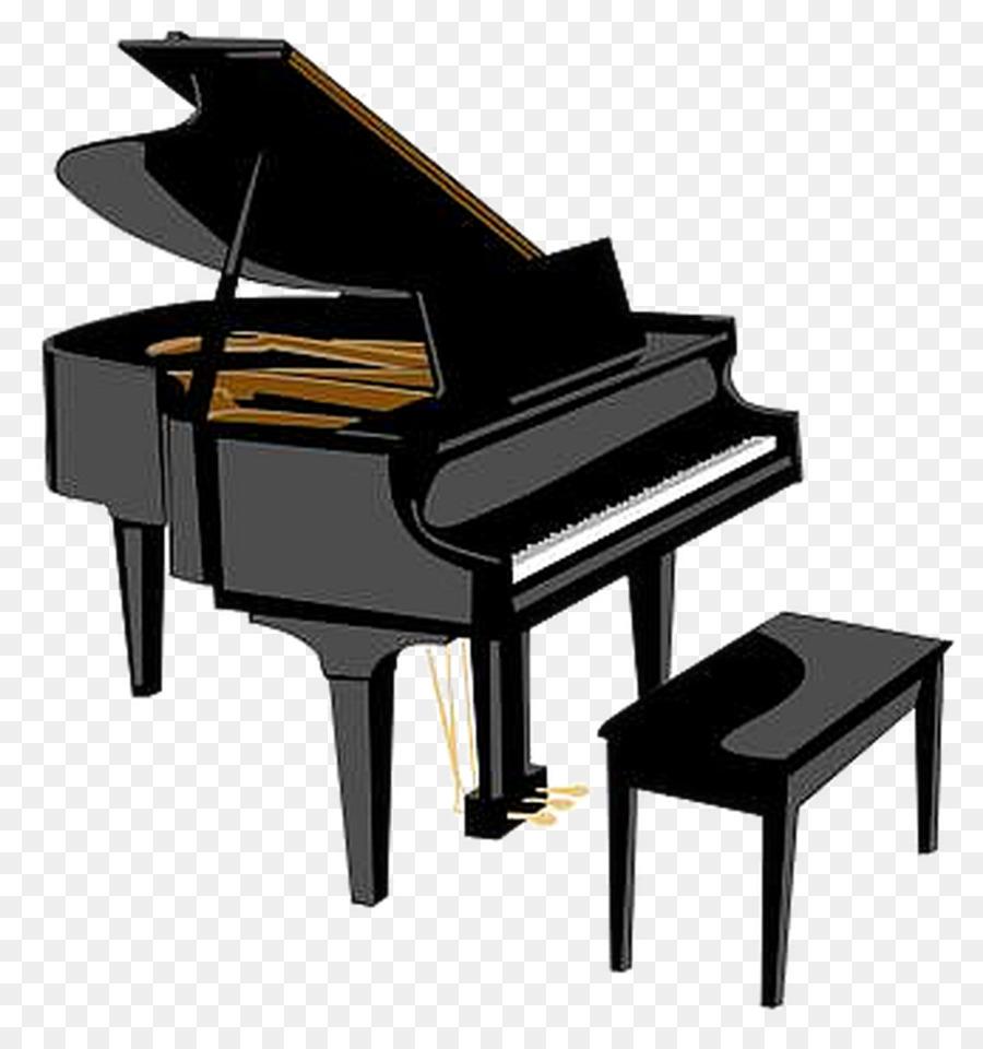 Piano Cartoon