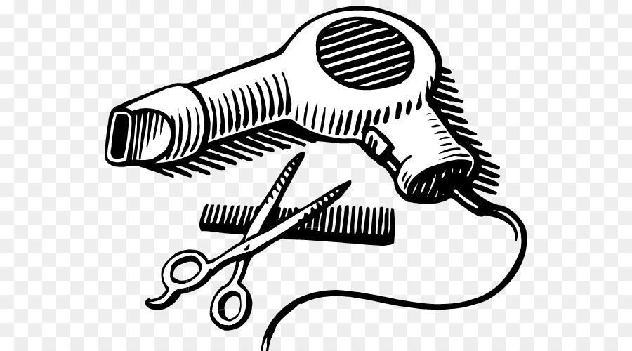 Microphone Cartoon Clipart Hairdresser Barber Technology Transparent Clip Art
