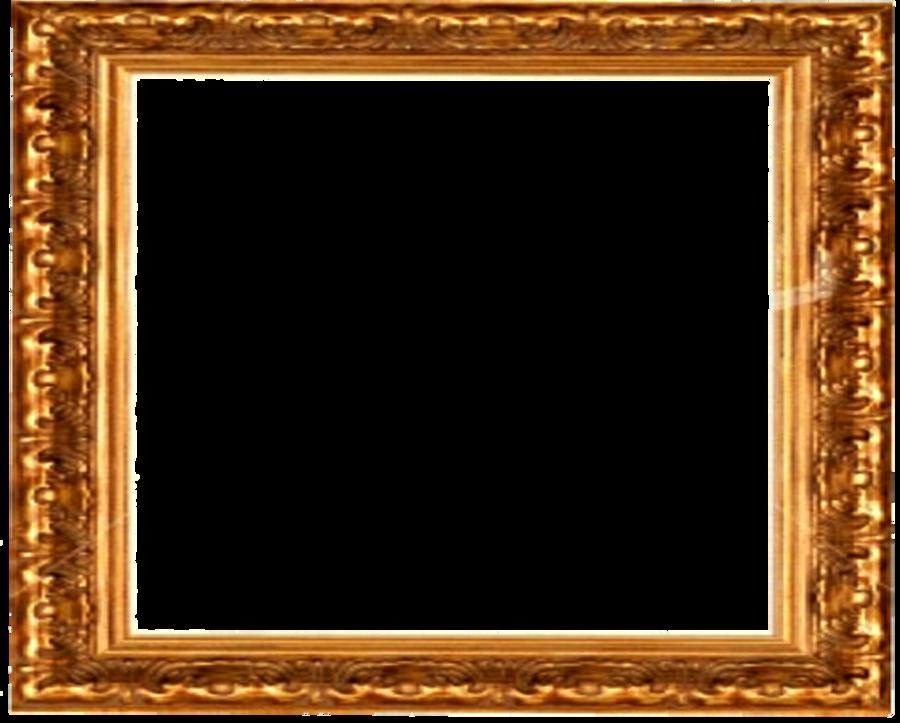 Download antique gold picture frame transparent clipart Picture ...