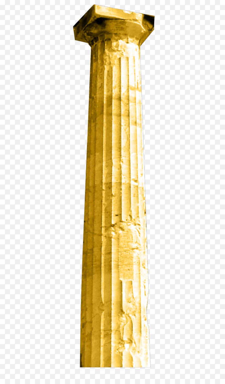gold column png clipart Column Clip art