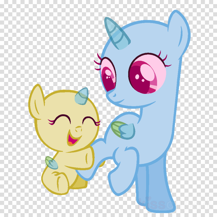 Download Mlp Base Filly And Baby Clipart Pony Deviantart Foal