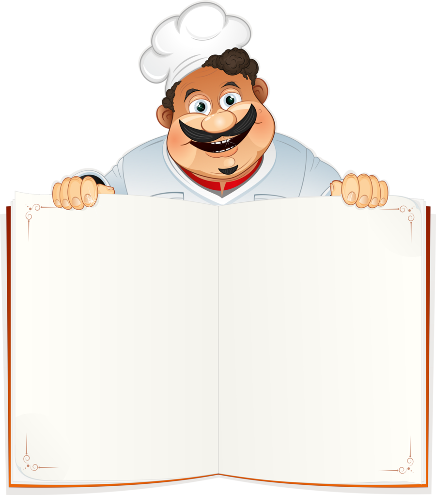 funny chef clipart Chef Literary cookbook Clip art