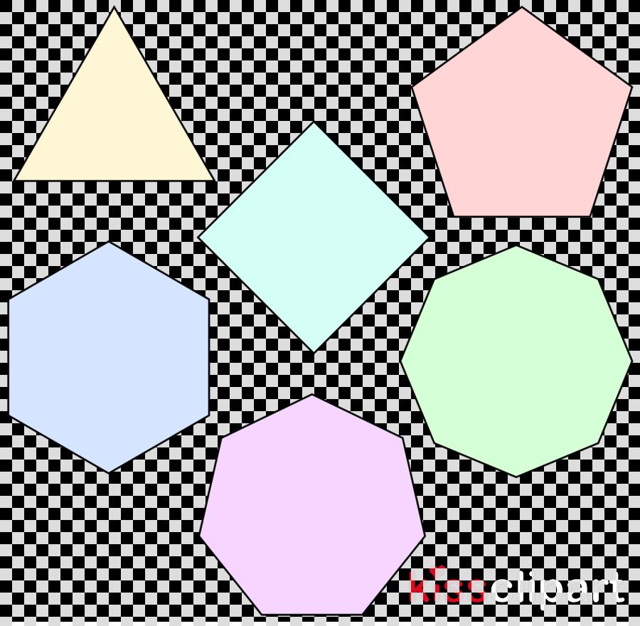 regelmäßige polygone clipart Regular polygon Equilateral polygon
