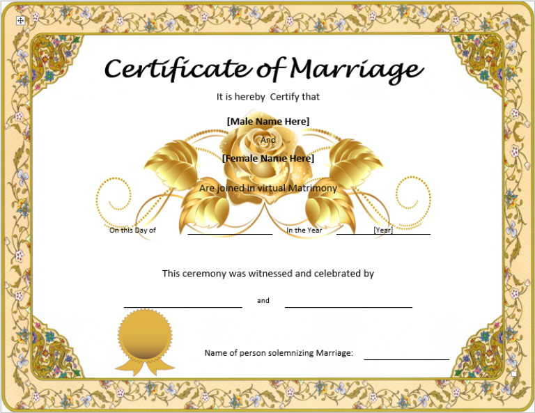 download marriage certificate designs clipart marriage certificate