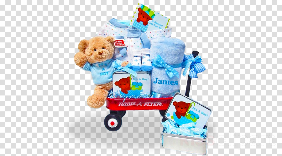 Gift Basket Child Boy Party Product Food Play Png Clipart