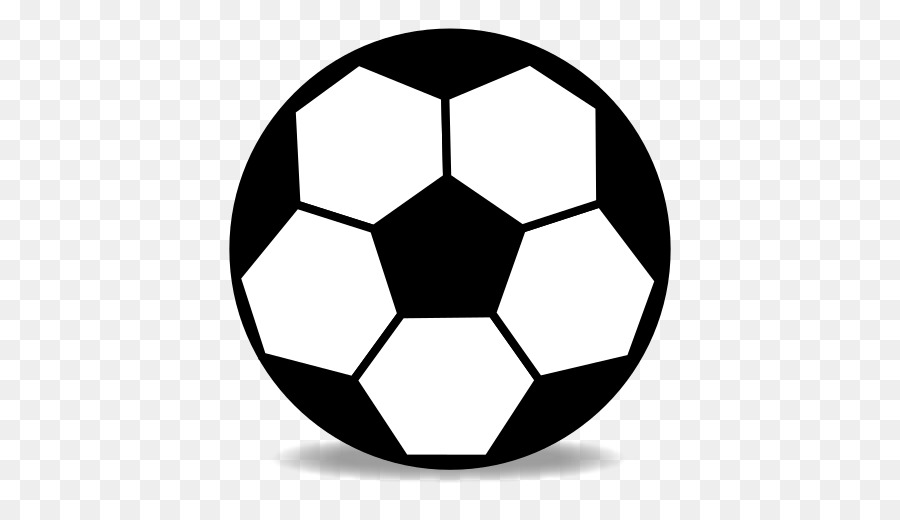 Football simple. Background clipart white ball