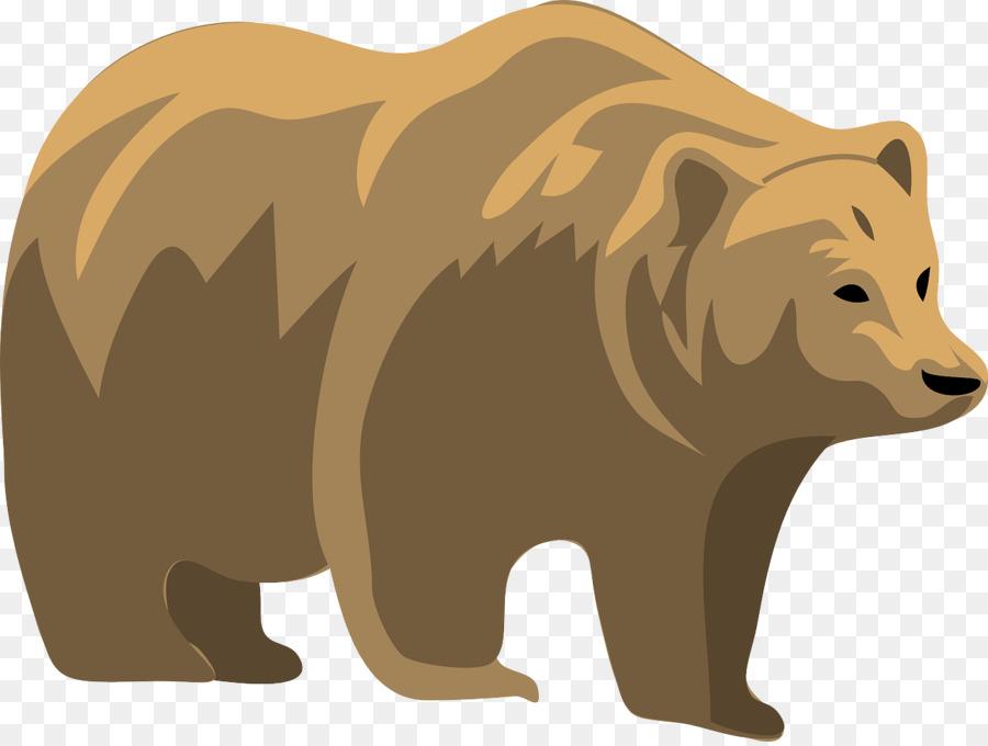 Bear transparent. Polar cartoontransparent png image