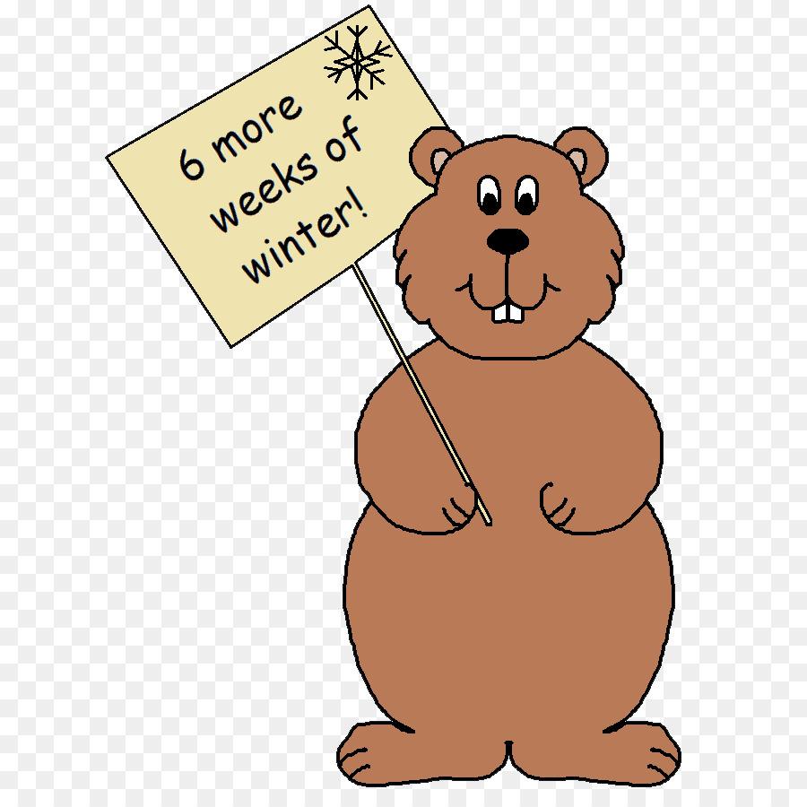 groundhog clipart The Groundhog Bear Clip art