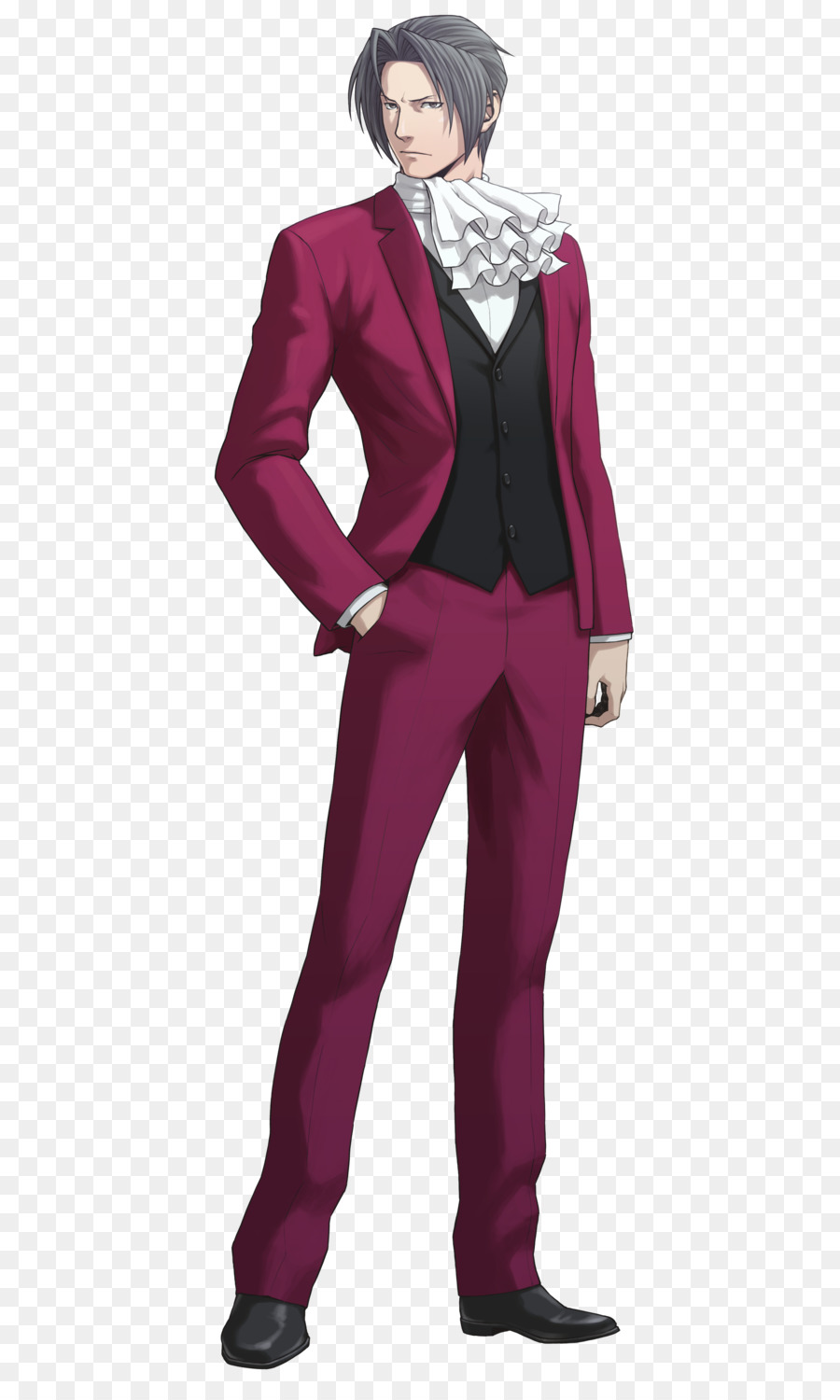 Ace Attorney Miles Edgeworth Png Clipart Phoenix Wright Ace