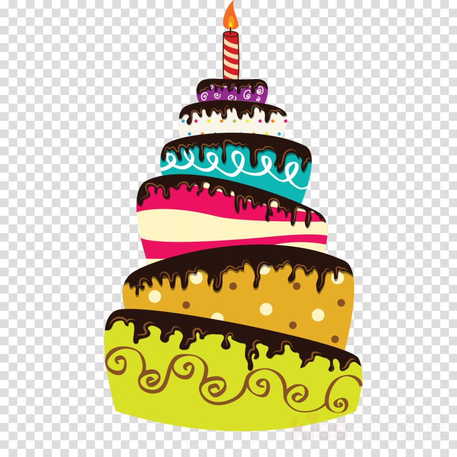 Birthday Cake Font Transparent Png Image Clipart Free Download