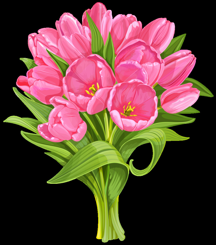 Download Transparent Background Bouquet Of Flowers Png Clipart