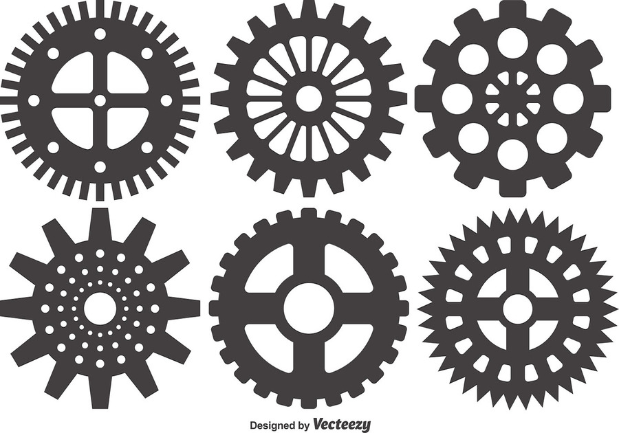 gear circle line design pattern font product wheel png