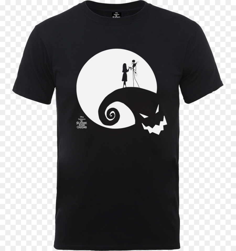 Download nightmare before christmas t-shirt moon oogie boogie size s ...