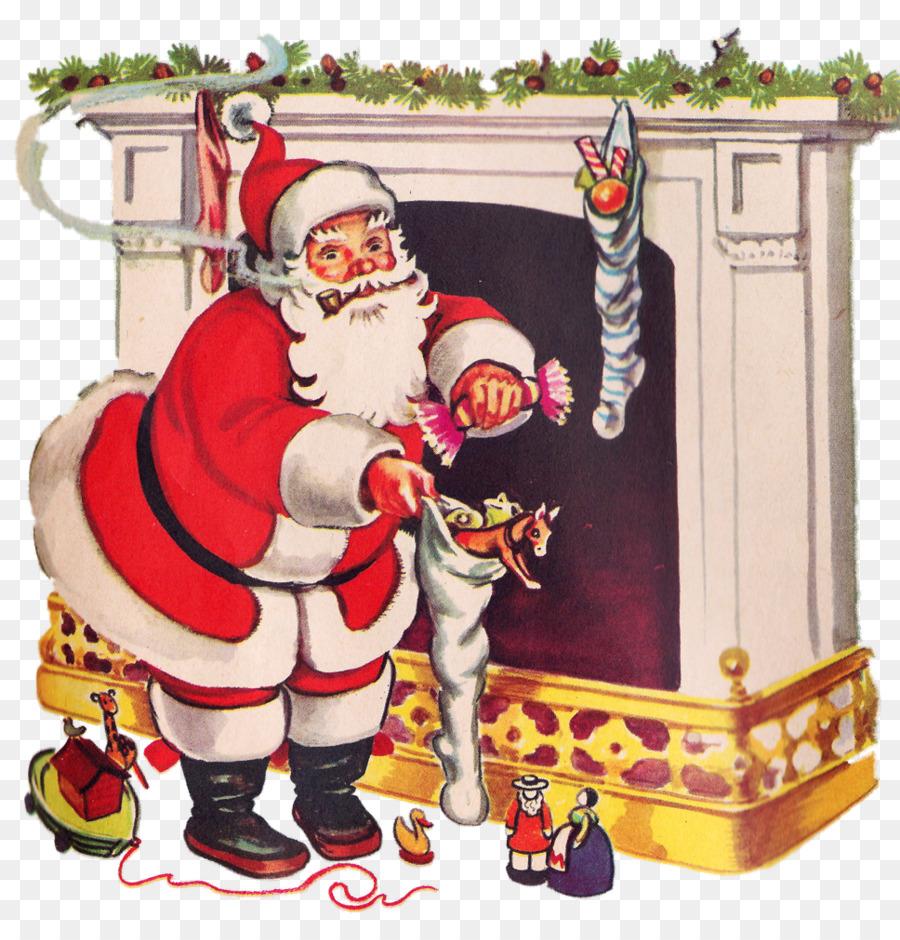 Смешных, открытка на новый год санта клаус