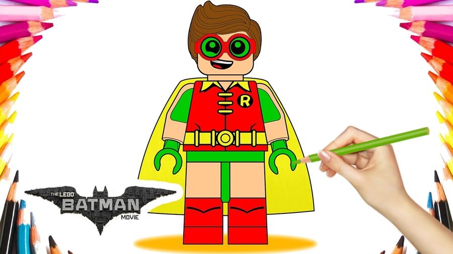 Download lego batman movie coloring book clipart Batman Batgirl ...