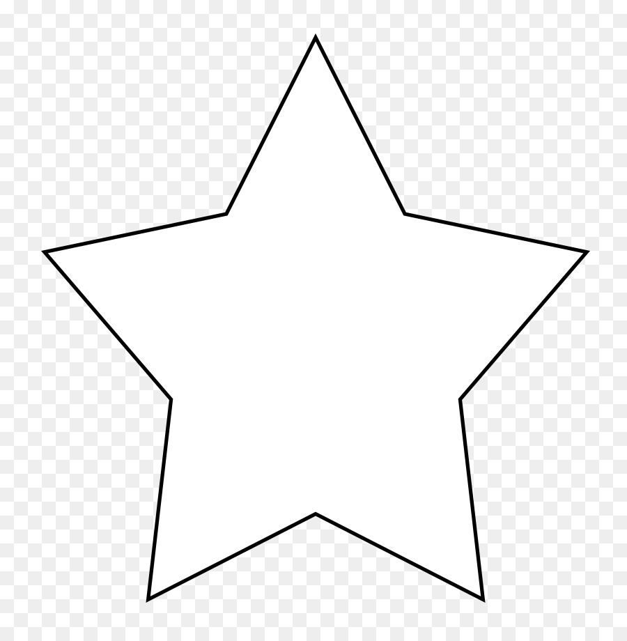 Star drawing clipart drawing star white transparent