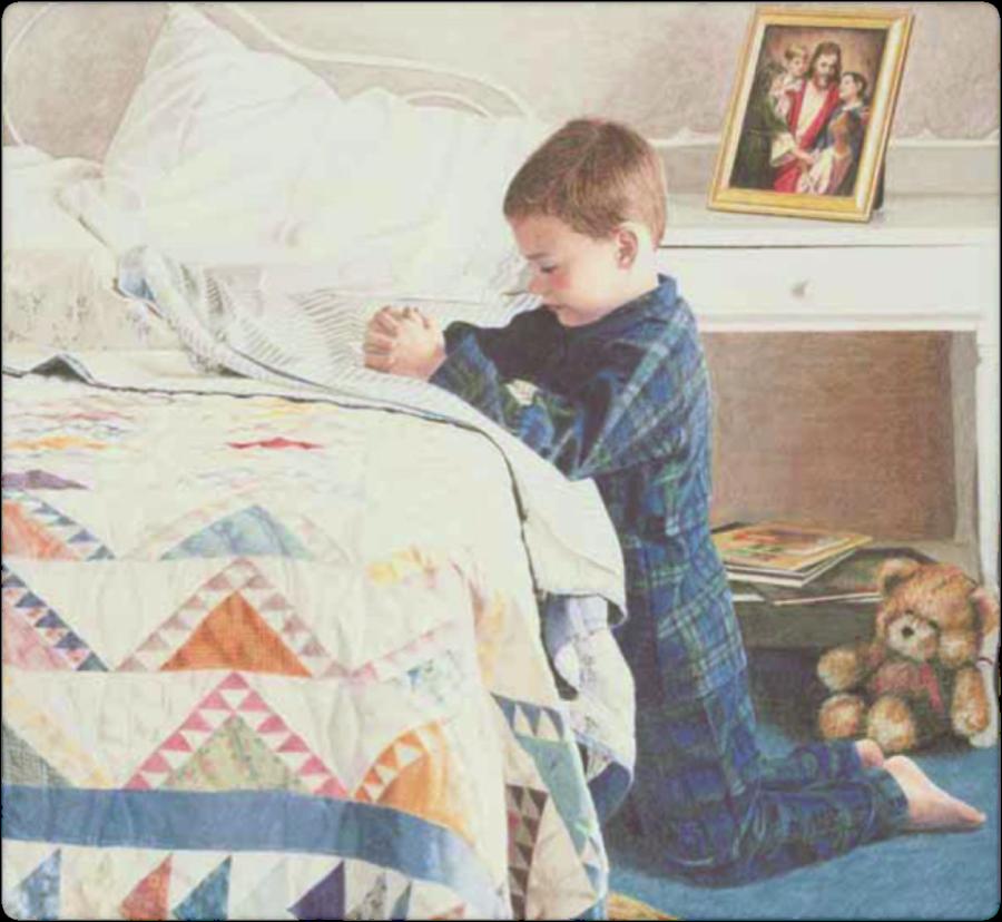 child's prayer flipchart clipart Prayer Child Infant