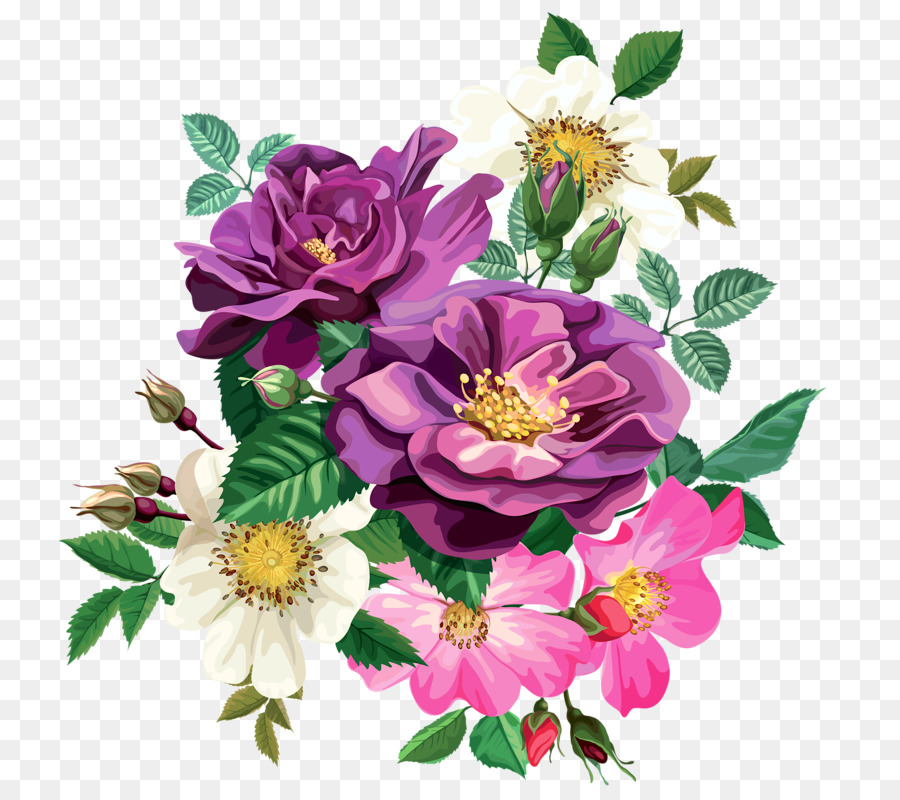 Flower Rose Drawing Transparent Png Image Clipart Free Download