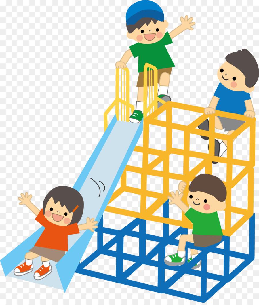公園 遊び イラスト clipart Playground Child