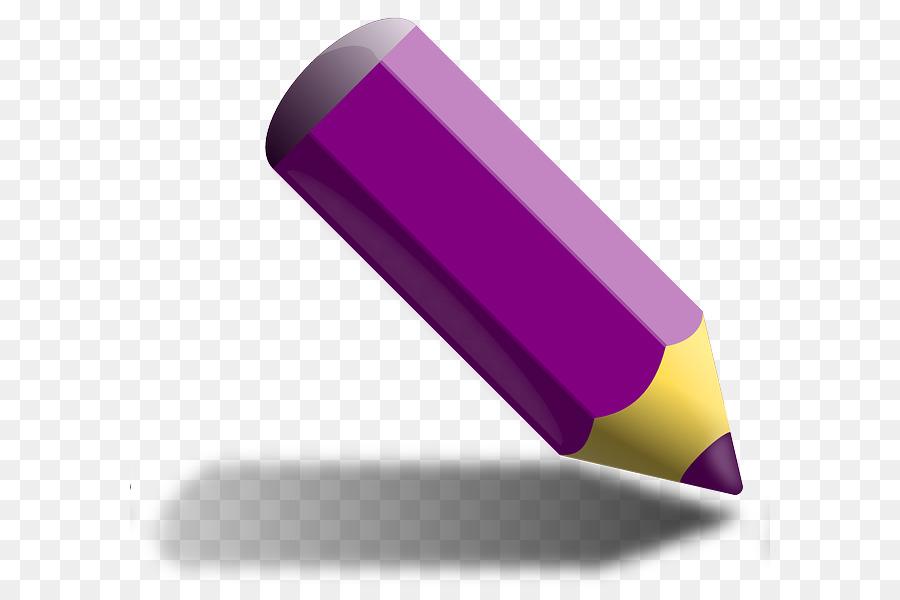 blue colored pencil clipart Colored pencil Clip art