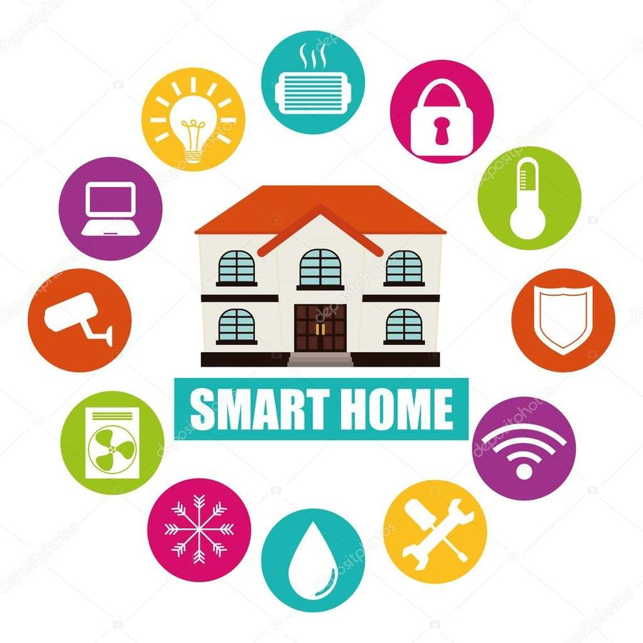Download smart home automation free vector clipart Home Automation ...