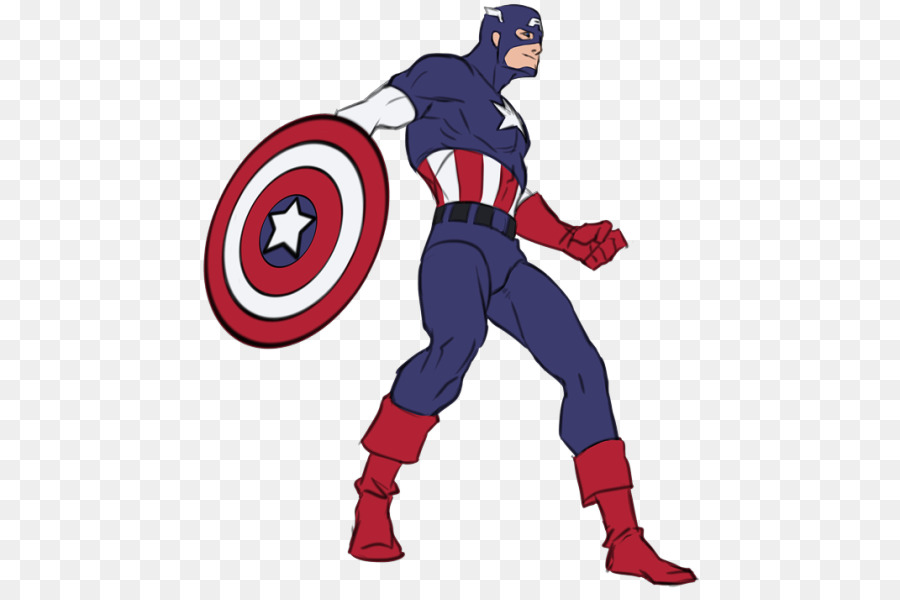 full body captain america sketch clipart Captain America Drawing Sketch