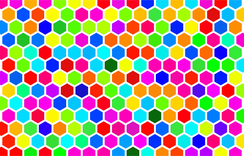 Hexagon Background clipart - Hexagon, Pattern, Color
