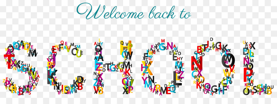 welcome back to school transparent background clipart Clip art