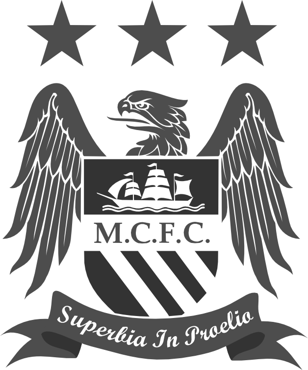 Manchester City Logo Transparent - Hd Football