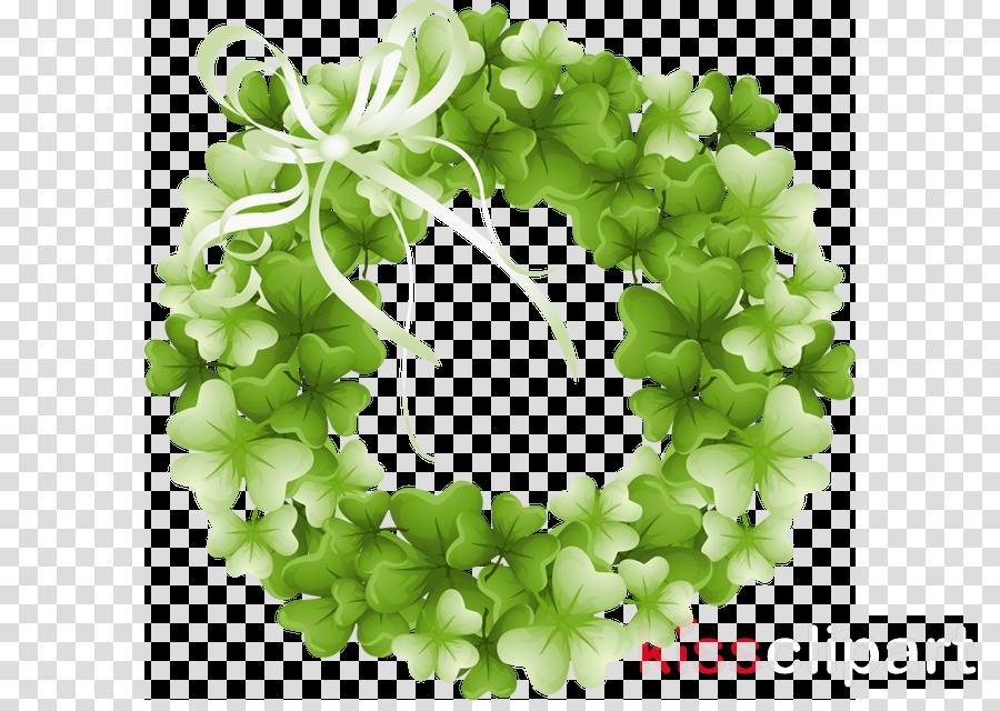 st patricks day wreath clip art clipart Saint Patrick's Day Shamrock Clip art