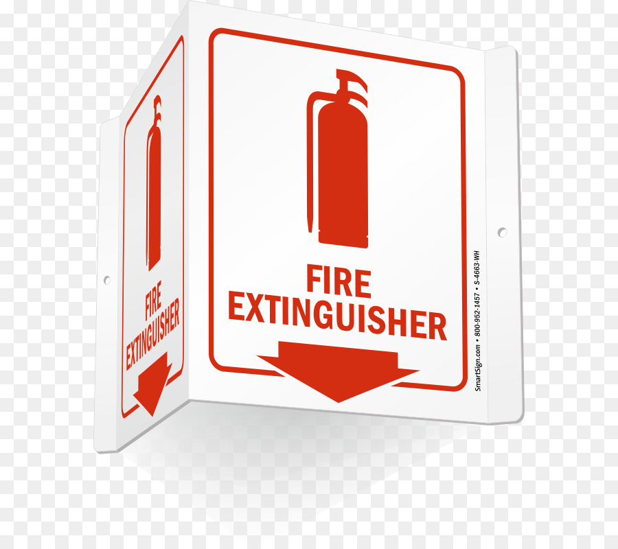 fire extinguisher inside (with down arrow & graphic) sign, 5